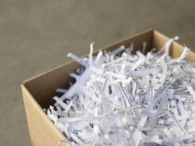 Various Critical Documents You Should Shred